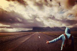 alleine auf Reisen