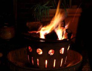 Altes verbrennen