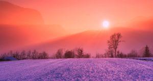 der Winter geht zu Ende
